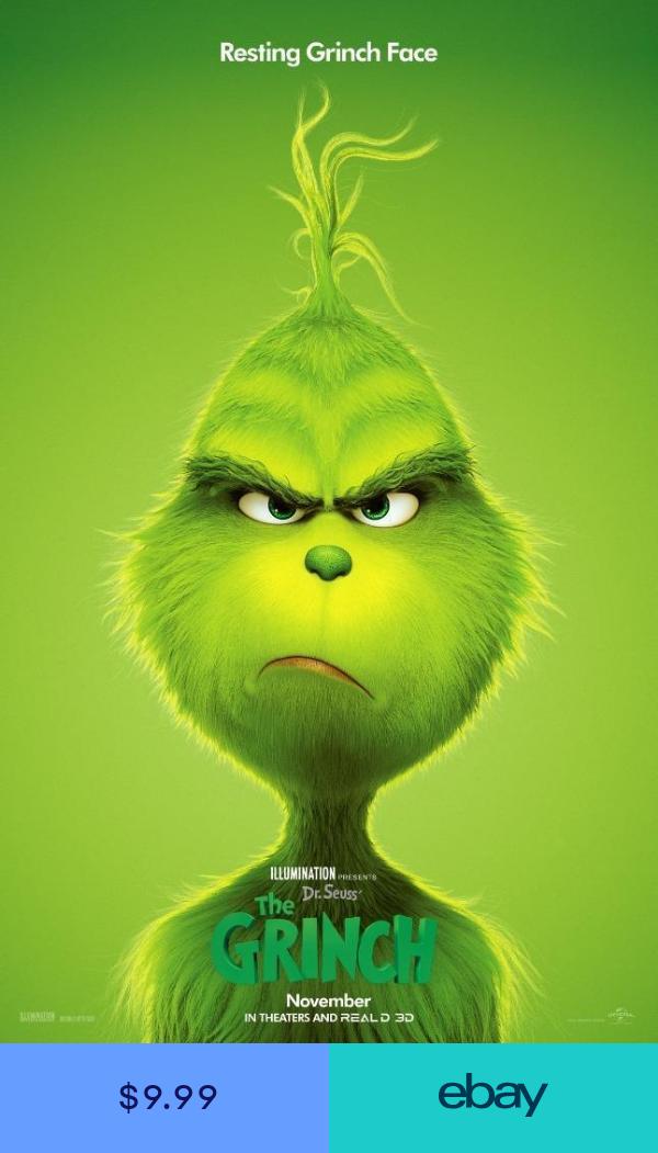 The Grinch Movie Poster Photo Print 8x10 11x17 16x20 22x28 24x36 2… | Peliculas completas en ...