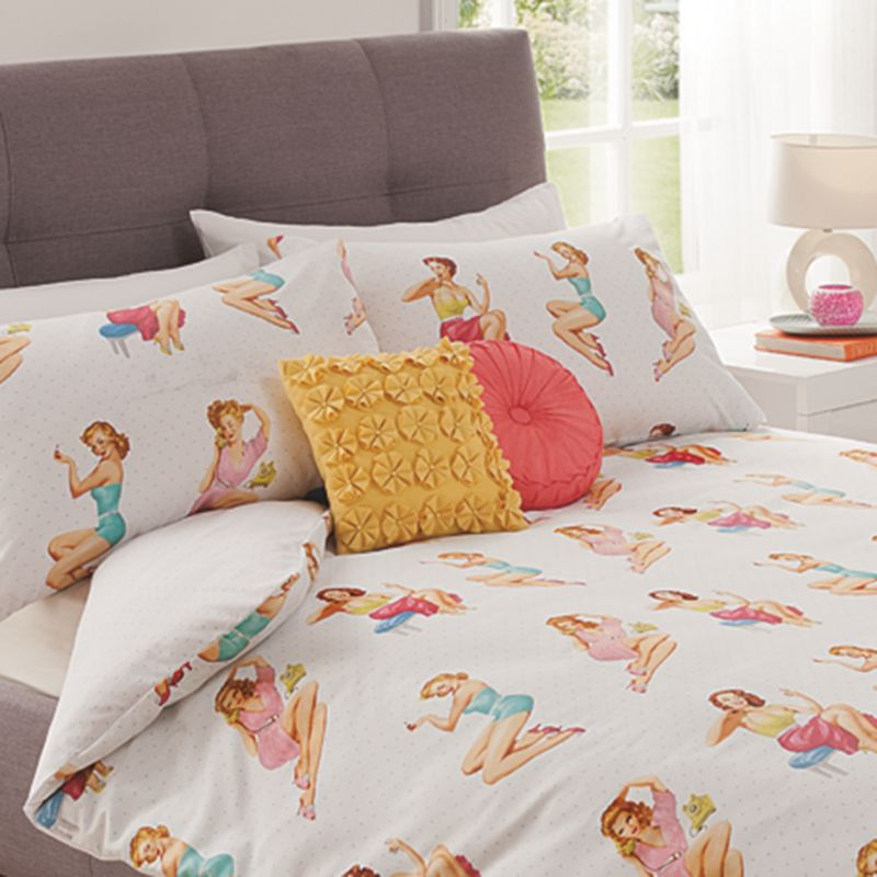 Gorgeous pin up bedding from George