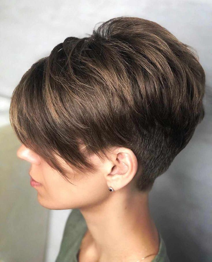 Beautiful Pixie And Bob Short Hairstyles 2019 Beautiful Bob Hairstyle Hairstyles Pixie Short Coole Frisuren Tolle Kurze Haare Haarschnitt