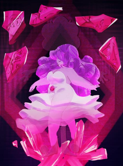 The Art of Witty   Rose quartz steven universe, Crystal gems steven universe, Diamond tumblr