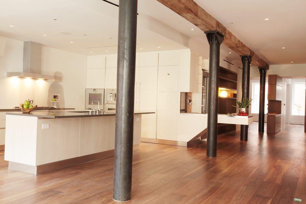 Modern Columns Design Kitchen Modern With White Cabinets White Cabinets White Cabinets Home