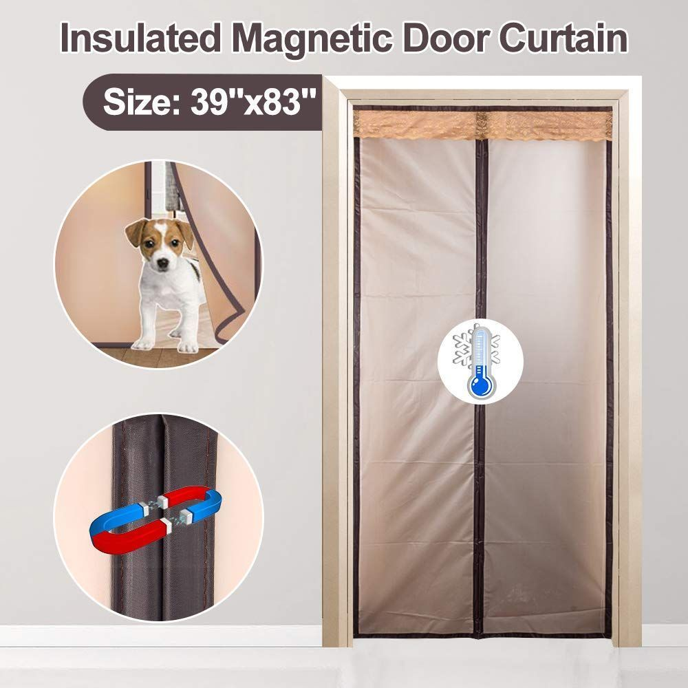 """39 """"x 83"""" insulated magnetic door curtain, cover …"""