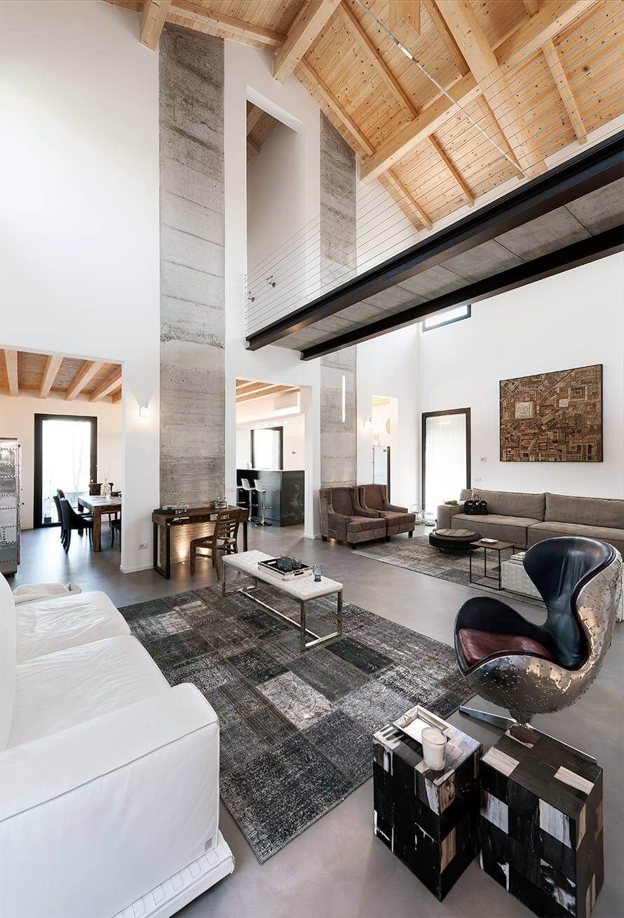 Superb Designed By Brescia Based Resin This Inspiring Single Family Residence Is  Located In