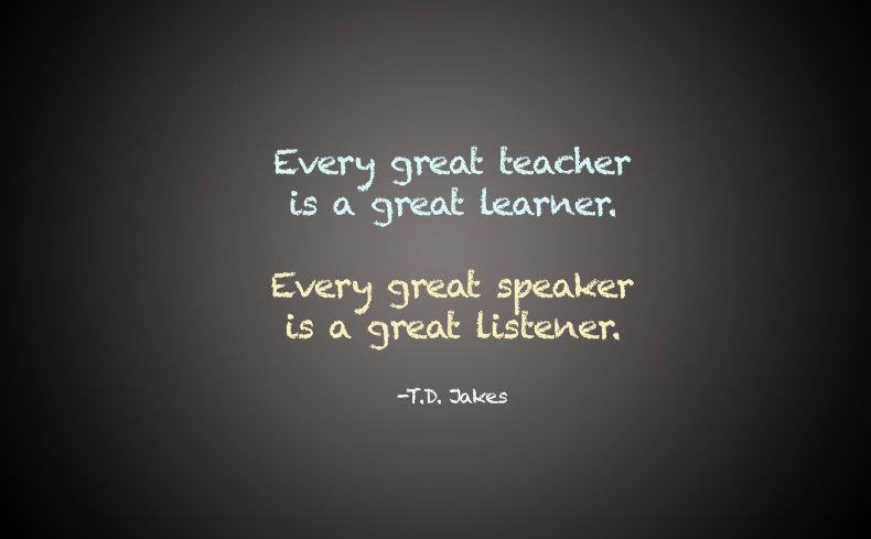 TD Jakes Quote Every Great Teacher Is A Great Learner Every Great Unique Relationship Quotes By Td Jakes
