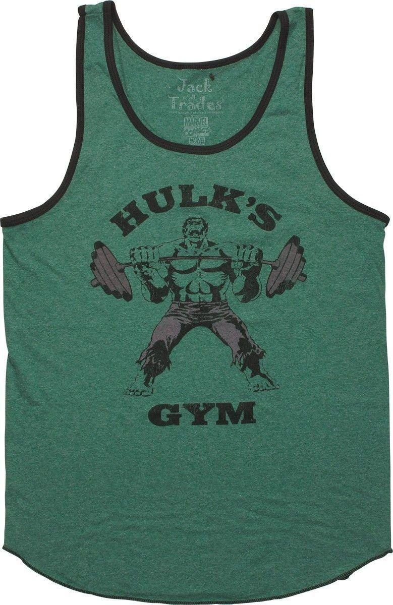 33cebe230 Hulk Hulk's Gym Marvel Comics Premium Adult Tank Top - Your Favorite T -Shirts