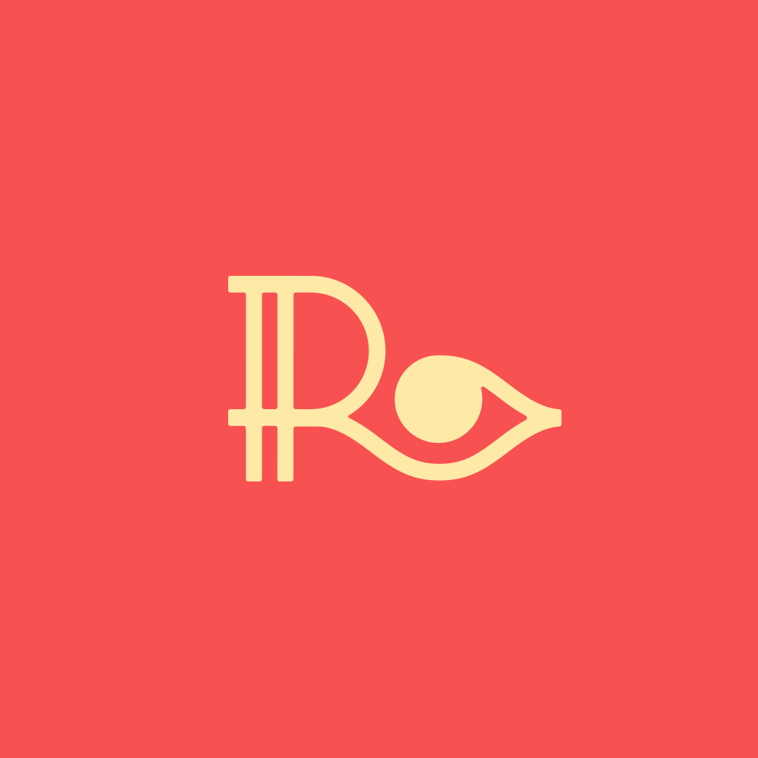 Letter R + Eye Logo design for eye glasses shop. | Logos ...