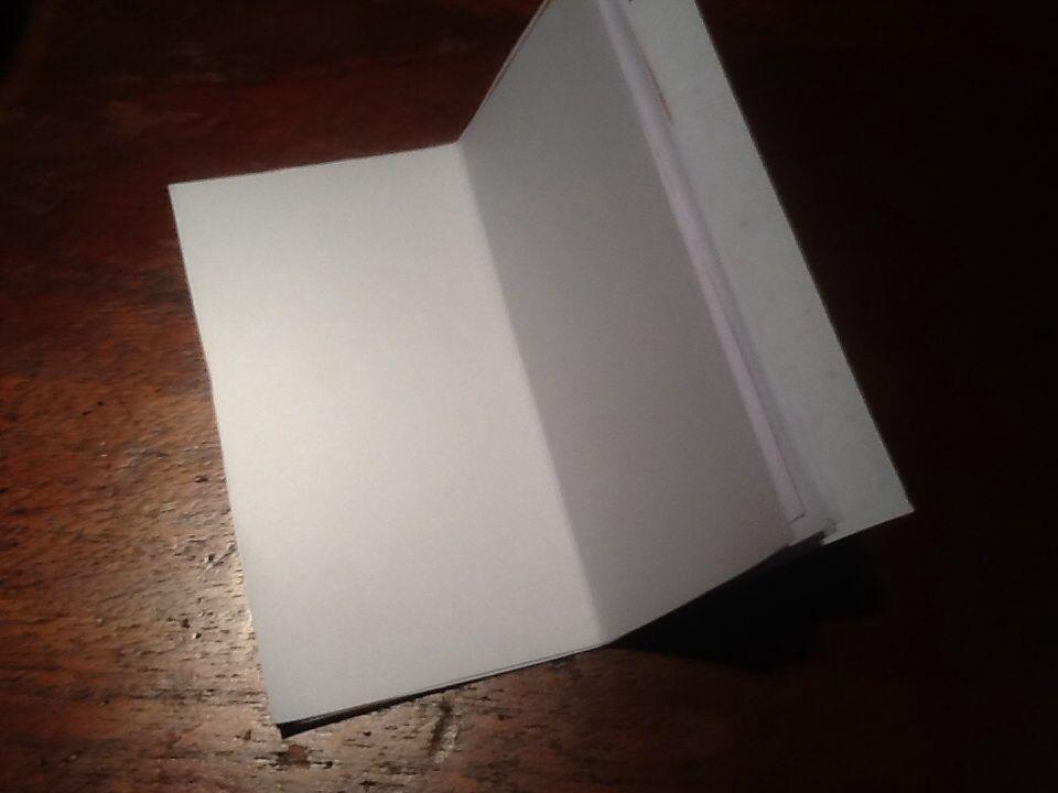 Mini libreta por dentro