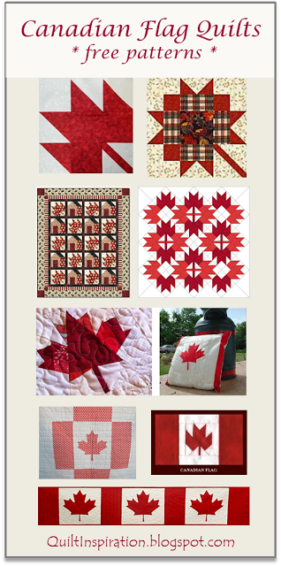 Free Pattern Day: Canadian flag quilts & maple leaf blocks at ... : canadian flag quilt - Adamdwight.com