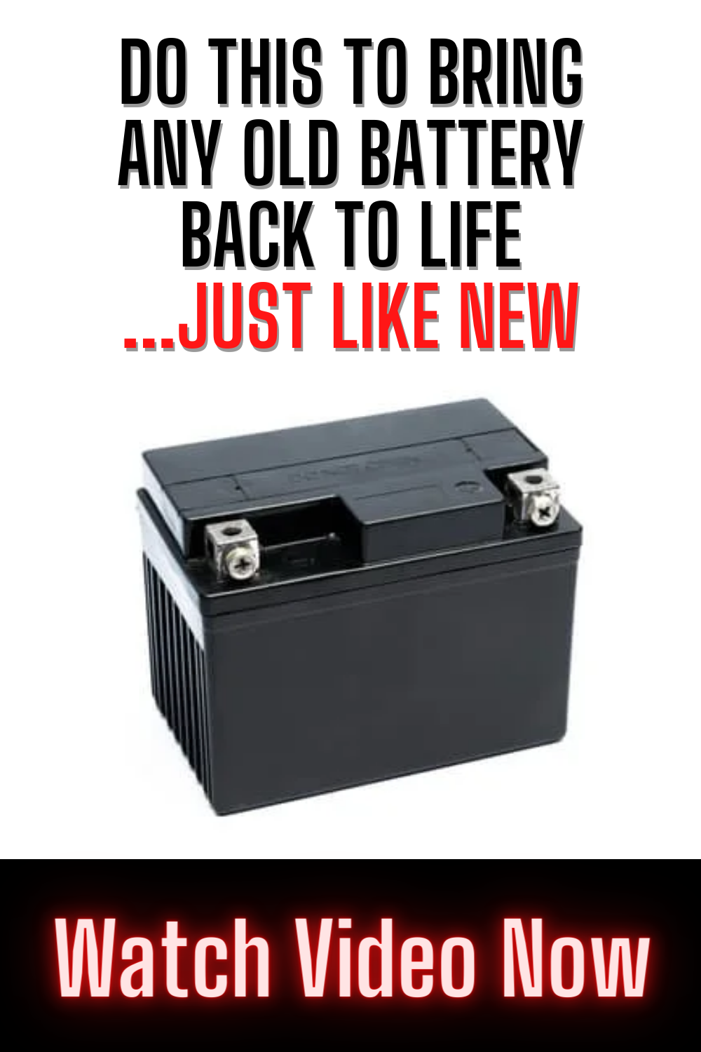 How To Recondition Batteries At Home For Free Step By Step In 2021 Recondition Batteries Battery Hacks Battery Repair