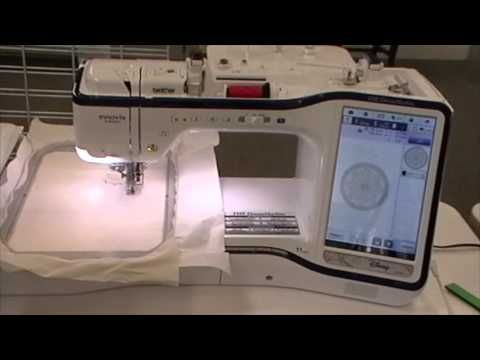 Instant Digitizing On THE Dream Machine By Brother YouTube You Adorable Brother Dream Catcher Sewing Machine