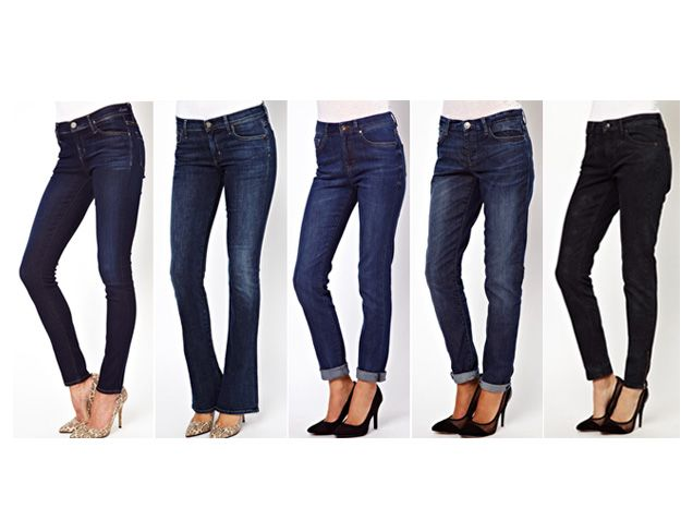 A little like a push-up bra for your butt, the perfect pair of jeans instantly lifts, shifts and lengthens your appearance. And while finding the right jeans may seem like a daunting task, once you've determined your body shape, selecting a flattering cut is surprisingly easy.