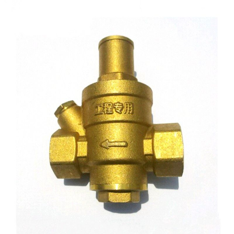 Brass Water Pressure Regulator Without Gauge Dn15 Dn20 Dn25 Dn32 Tap Water Pressure Reducing Valve Pressure Mantaining Valve Valve Cool Things To Buy Brass