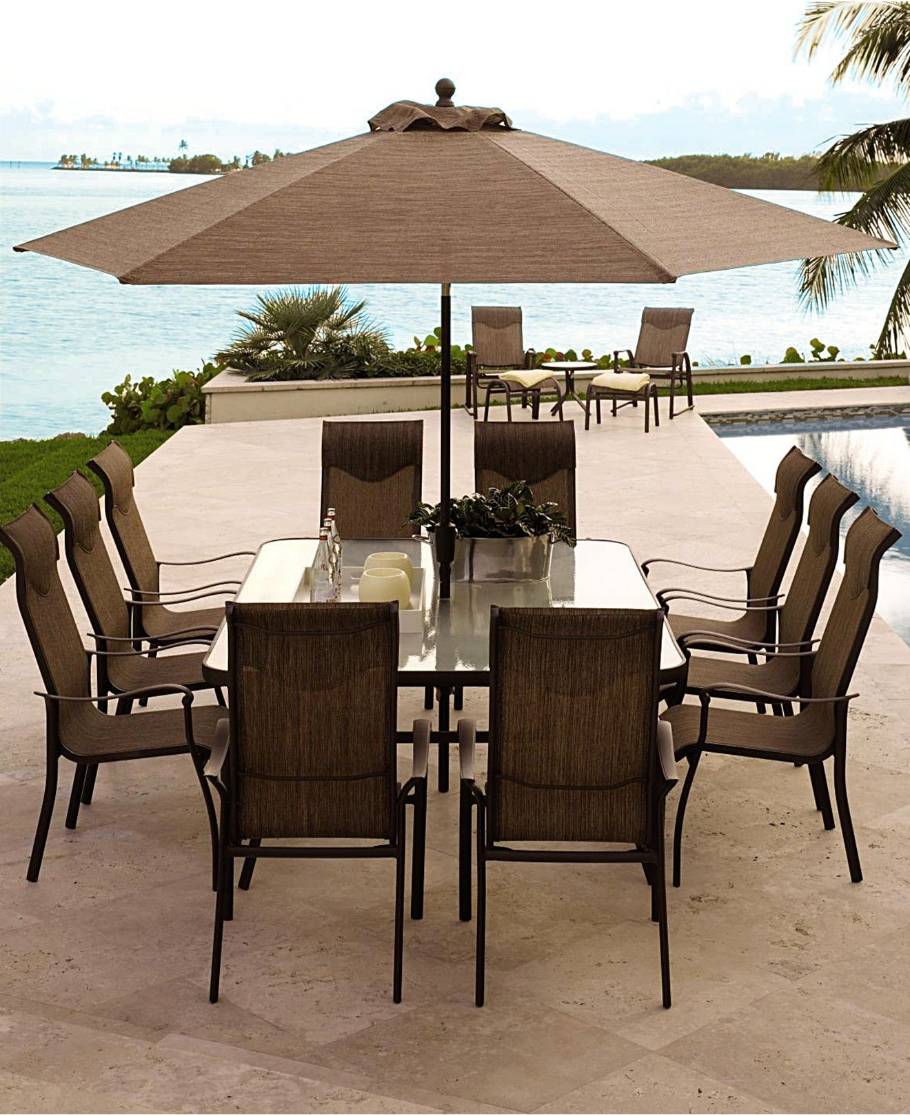 Oasis Outdoor Dining Collection Created For Macy S Patio