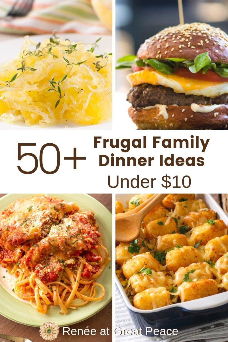 50 frugal family dinner ideas under 10 easy family