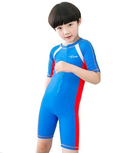 d22b4a6d4a770 $29 Boy's Short-sleeve One piece Swimsuit Sunscreen Wetsuit (... https: