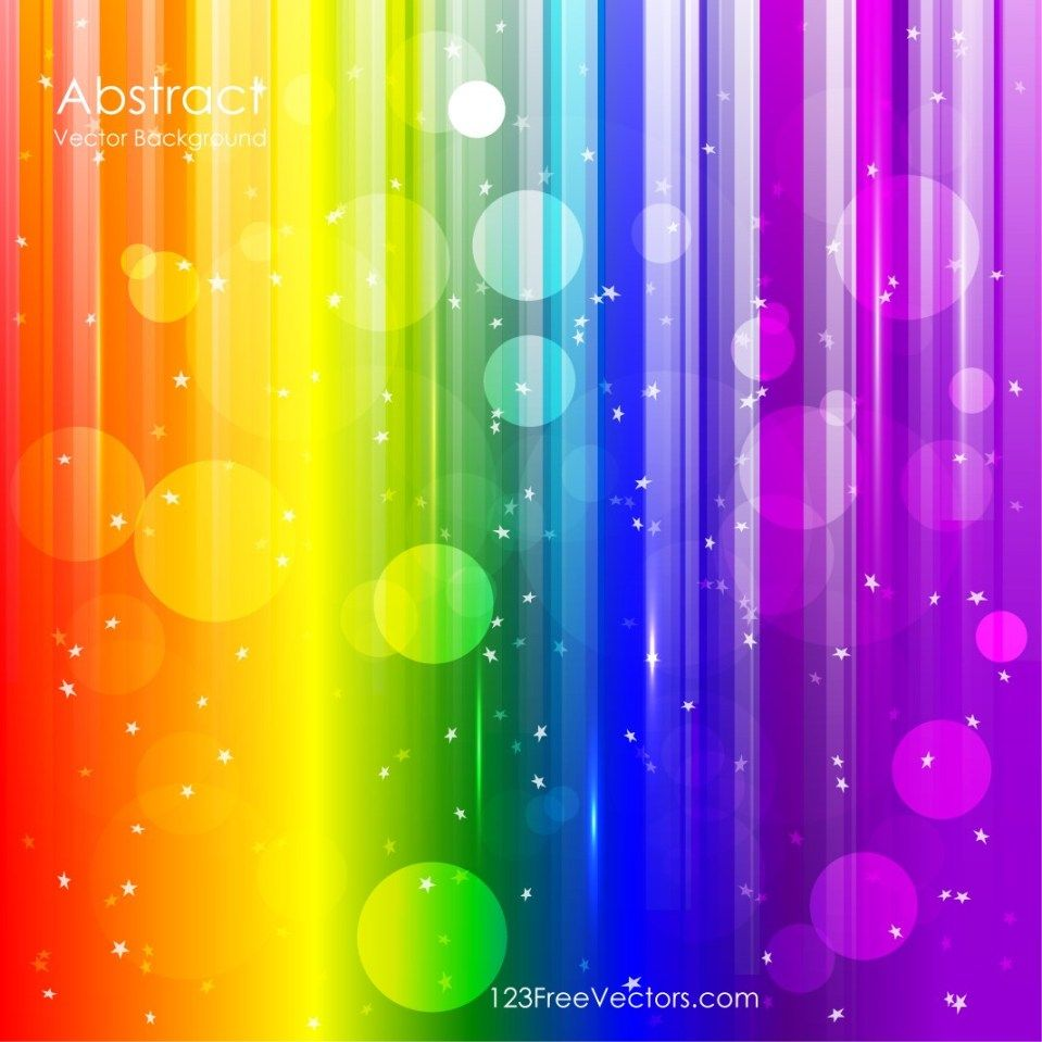 Rainbow Vector Free Vector Graphics 123freevectors Rainbow
