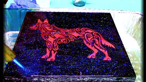 Sound On - another Demonstration Video is live at PrimalFlowPaint.com! This one is focused on the versatility of Primal Galactic Holographic Glitter!