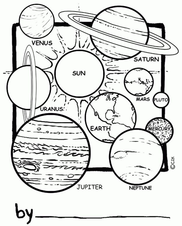 Printable Worksheets space science worksheets : Solar System Image to Print - Bing Images | Homeschool | Pinterest ...