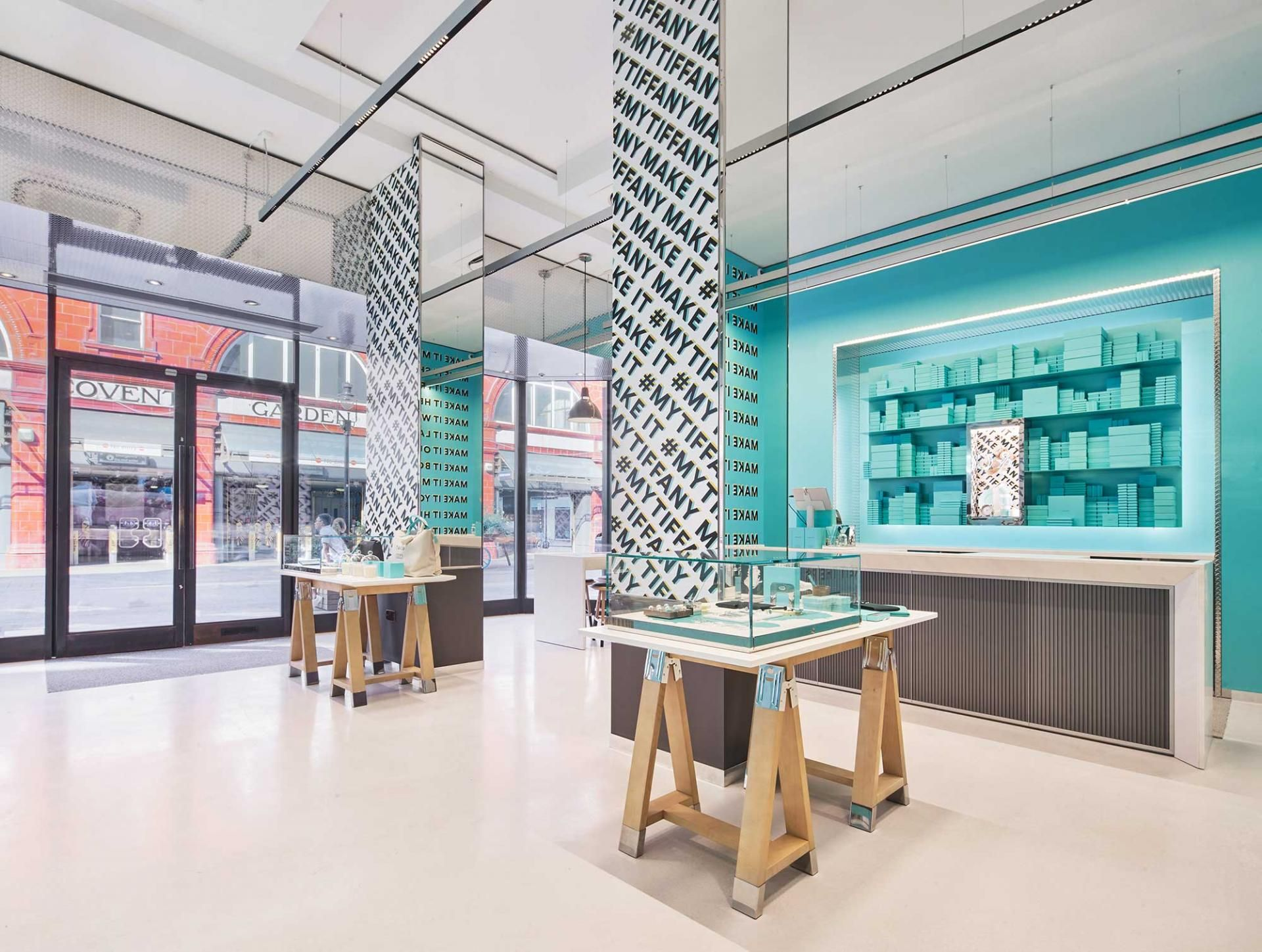 9527b9d45 Tiffany & Co. Style Studio, Covent Garden: try the new Tiffany vending  machine | Jewellery | Watches & Jewellery | Luxury London