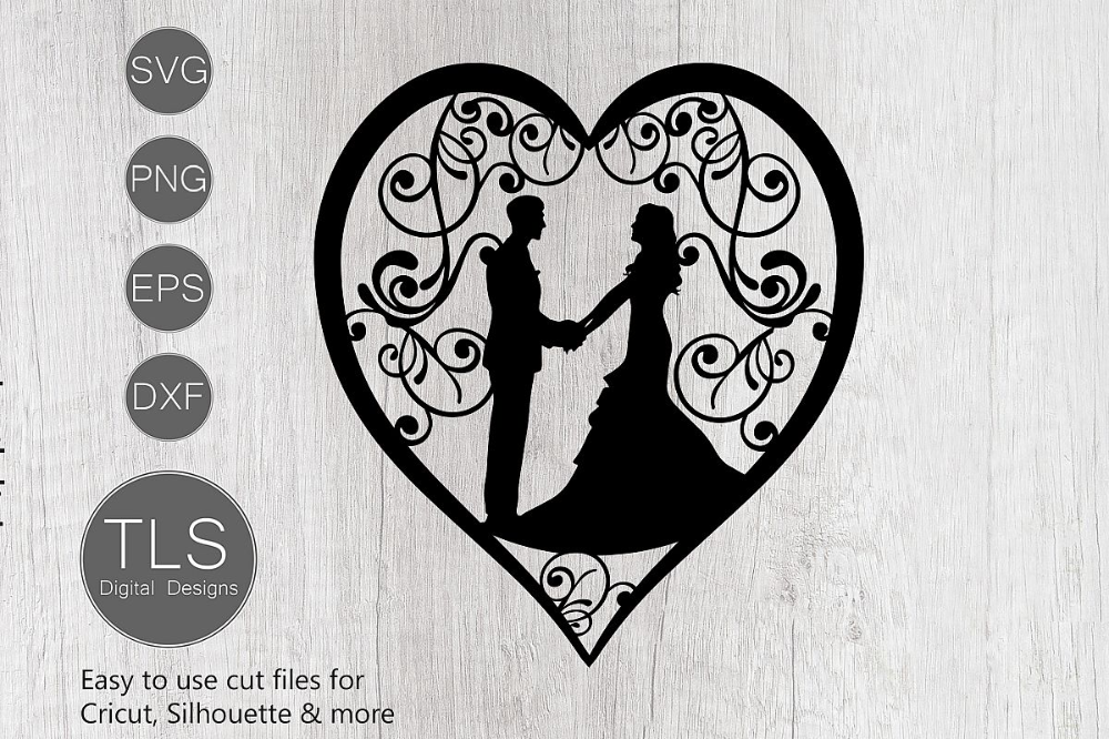We Do t-shirt design Paper cutting template wedding decoration SVG  PDF  DXF files commercial license cake topper hearts love