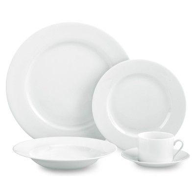 Apilco Tuileries Porcelain Dinnerware Place Settings Porcelain Dinnerware Dinnerware Dinnerware Sets