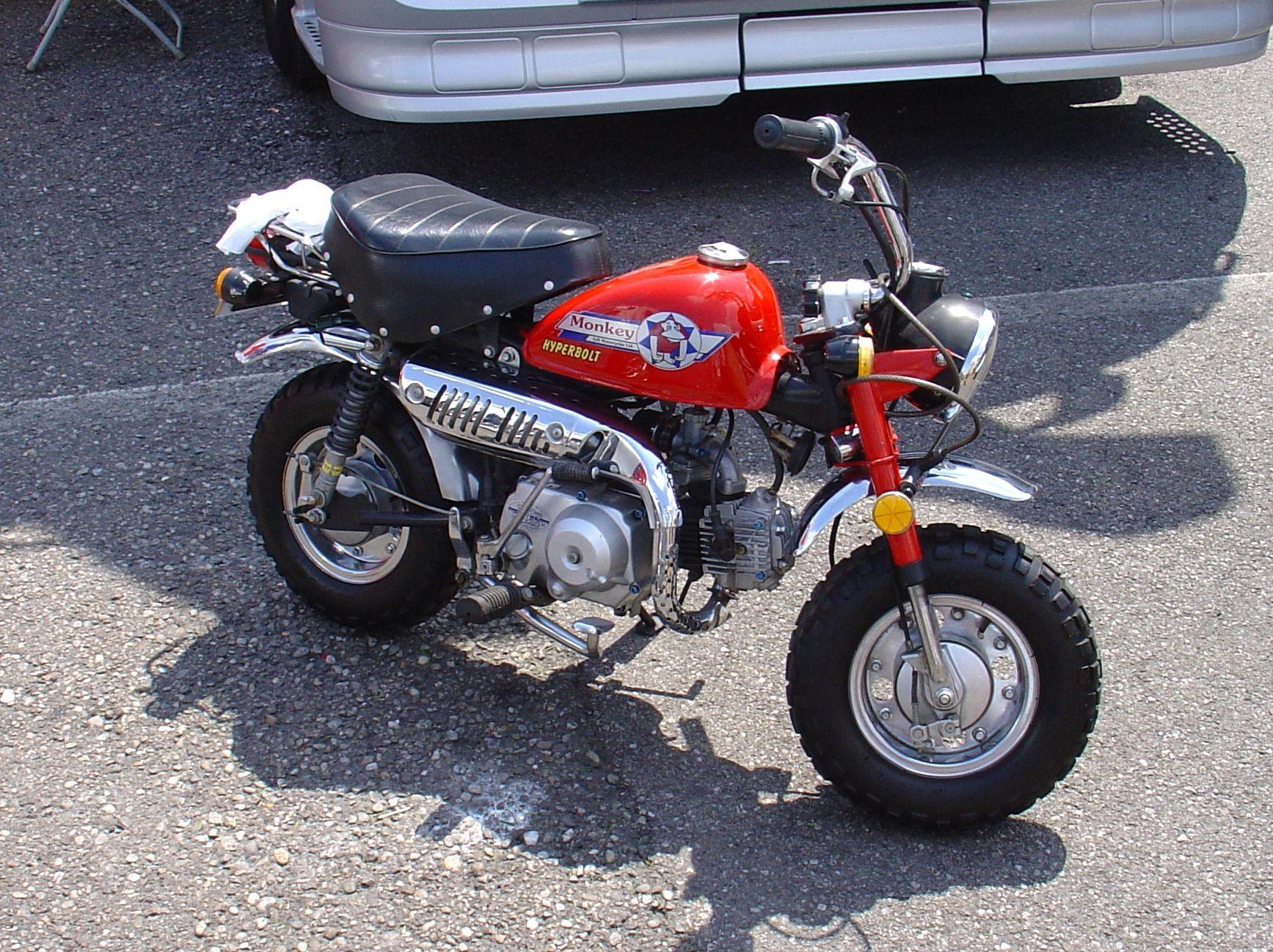 Jincheng Monkey Bike At Monza In 2007