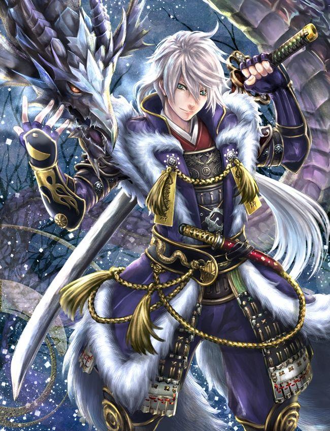 Tags anime pixiv id 3645796 katakura shigenaga dagger - Anime boy dragon ...