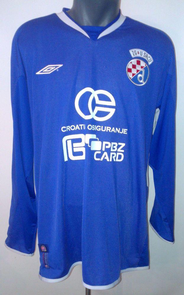 Dinamo Zagreb Croatia Match Worn 06 07 Davor Vugrinec Umbro Authentic Jersey Xl Gnk Dinamo Zagreb Zagreb Croatia Zagreb
