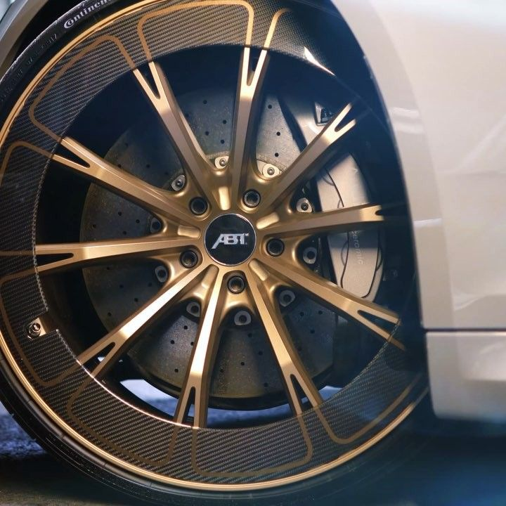 At The Geneva International Motor Show We Present The Frist Ever - Show rims on car before you buy