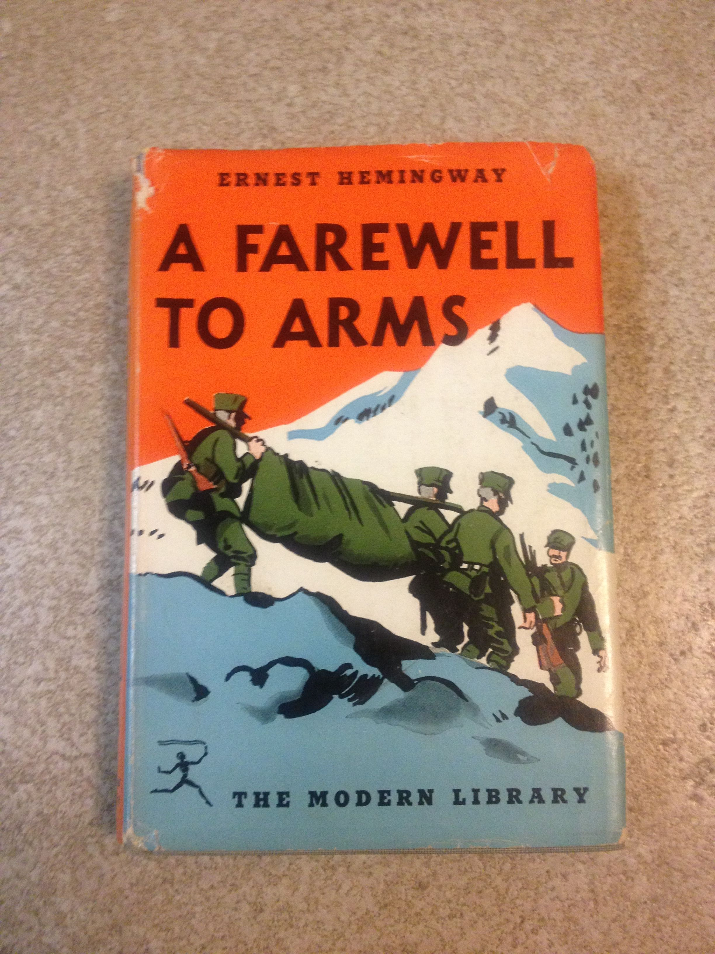 analysis of a farewell to arms by ernest hemingway Love versus lust the deconstructive analysis toward ernest hemingway's novel a farewell to arms love versus lust the deconstructive analysis toward ernest hemingway's novel a farewell to arms submitted to fulfill the final assignment of mata kuliah kajian sastra inggris mutakhir magister ilmu susastra.