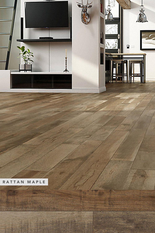 Virginia Mill Works Rattan Maple Solid Hardwood Flooring 3 4 X 5 1 4 Solid Hardwood Floors Hardwood Floors Solid Hardwood