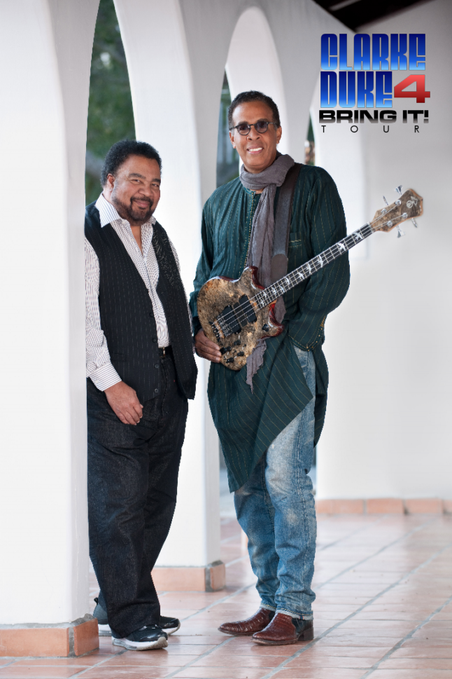 Stanley Clarke And George Duke Bring It Tour Pinterest Stanley
