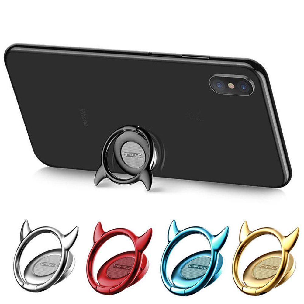 Cafele devail shape finger ring holder phone lazy holder