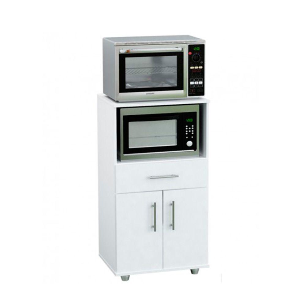 Rack Para Microondas Y Grill Centro Estant G11 Blanco Estante Para Microondas Diseño Muebles De Cocina Plano De Habitacion