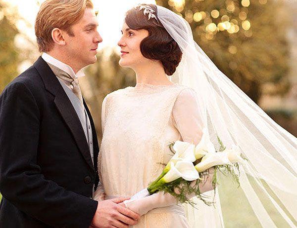 el vestido de novia de lady mary en downton abbey #vestido #boda