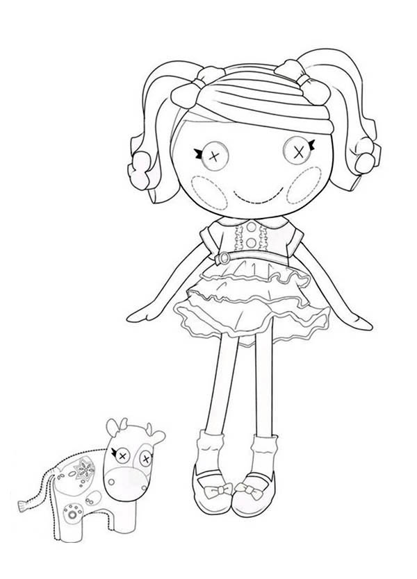 Berry Jars N Jam From Lalaloopsy Coloring Page Color Luna