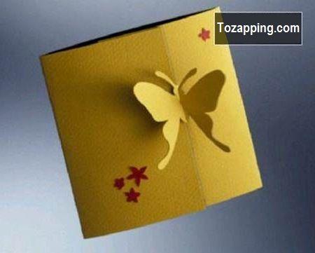 Tarjetas De Felicitación Kirigami 3D DIY Con Plantillas Creativas - tarjetas creativas