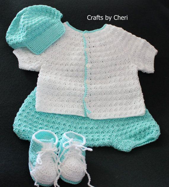 Artesanías por Cheri Original bebé PATRÓN-recién por craftsbycheri ...