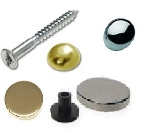 Mirror Screws Brass Or Chrome Caps 1 Inch 2 Inch 4 Cap Styles Ebay Mirror Screws Brass Mirror