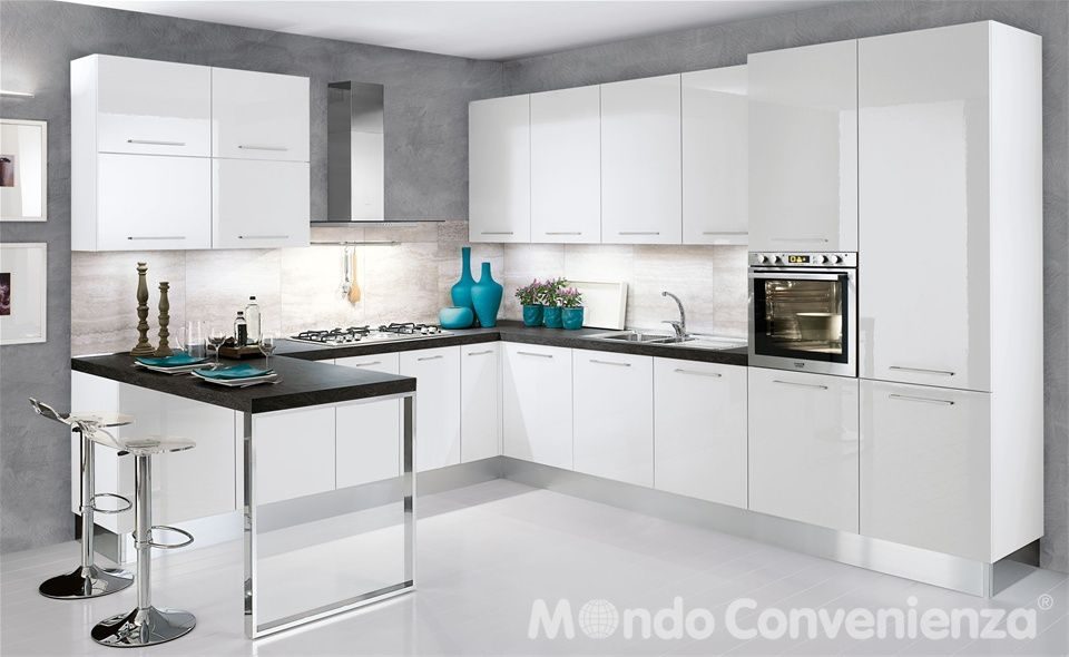 Cucina Katy - Mondo Convenienza | projeto my home | Pinterest | Anna ...