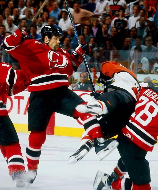 eeafdaa484f Scott Stevens vs. Eric Lindros - It is on!! #NJDevils | NJ Devils ...