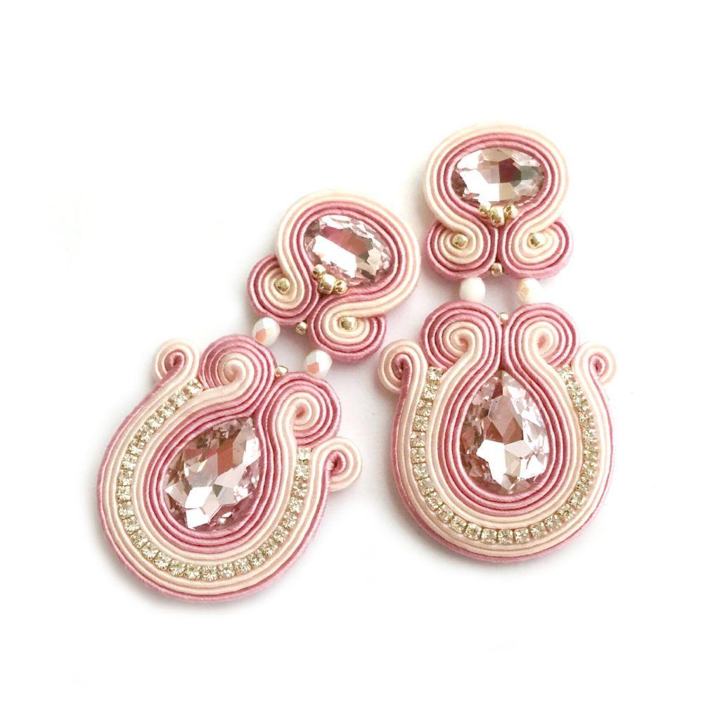 bridal-earrings-wedding-jewelry-wholesale-earrings-soutache-earrings ...