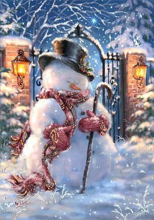 Christmas Winter snow