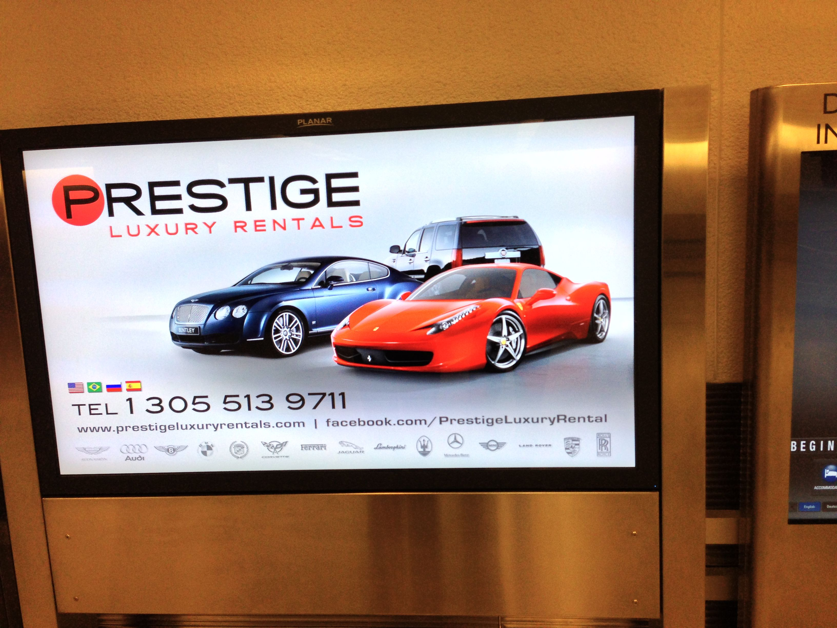 Prestige luxury auto rentals now available at the Miami