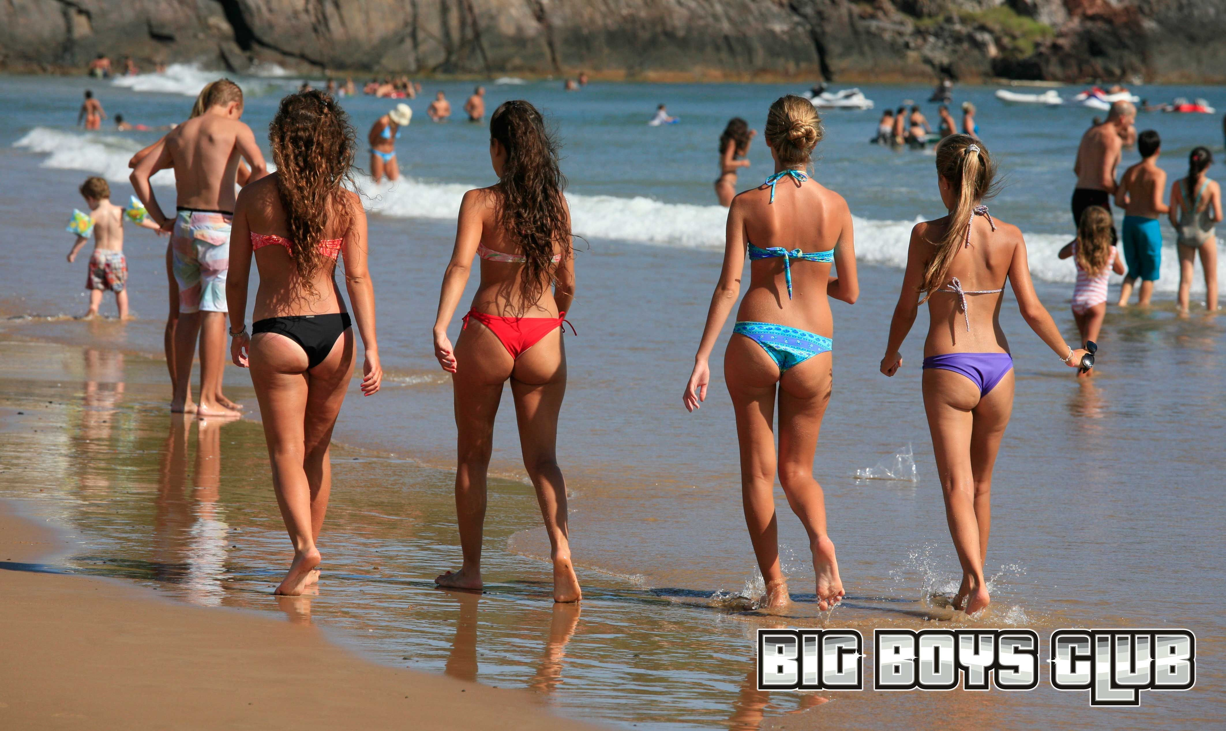girl Uruguay beaches