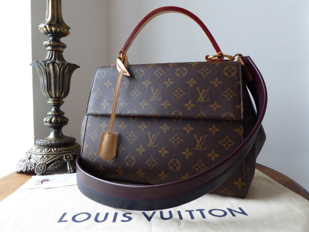 9cbf76bdc011 Louis Vuitton Cluny MM Monogram Bordeaux Navy  gt  https   www.npnbags