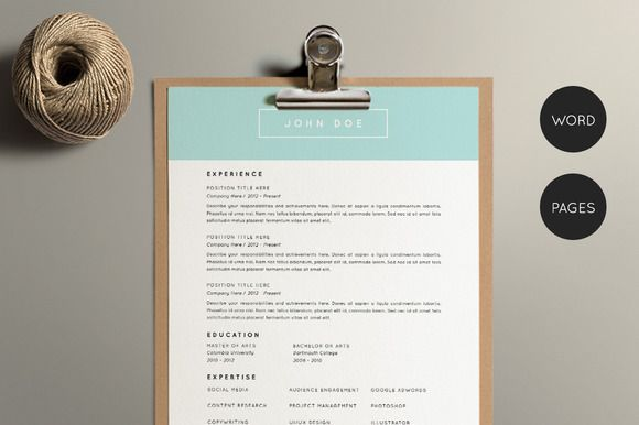 Resume Template Pack CV Template by Foundry Resumes on - resume functional template