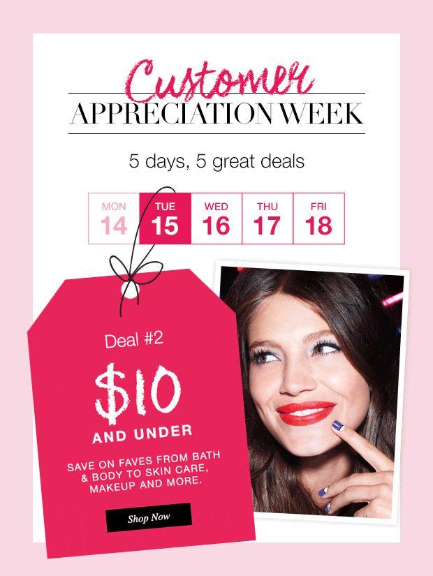 CUSTOMER APPRECIATION WEEK, Day 2!!  Shop here: www.youravon.com/KWISSNER