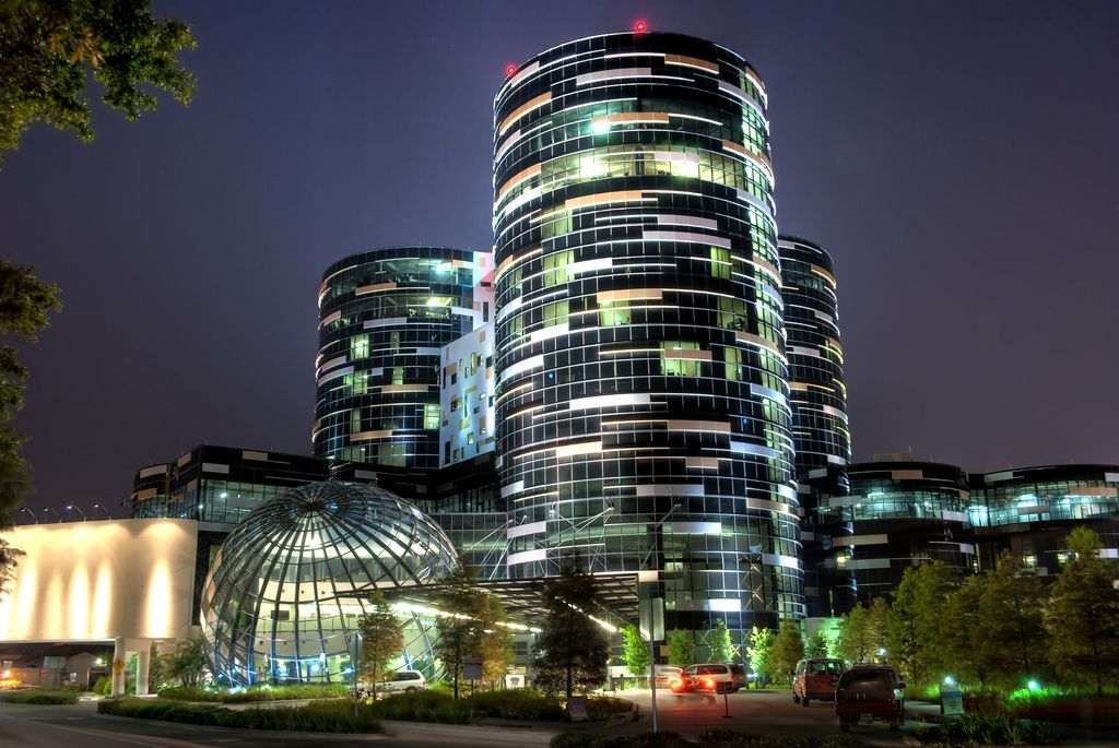 Beautiful hospital