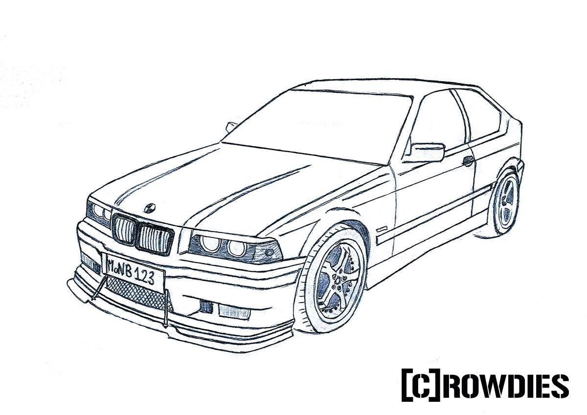 Drawing Zeichnung Autos Zeichnungen Und Malvorlagen